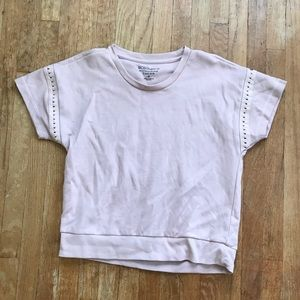 SALE! 5/$25 BCBGeneration Blush Sleeve Cut Out Tee